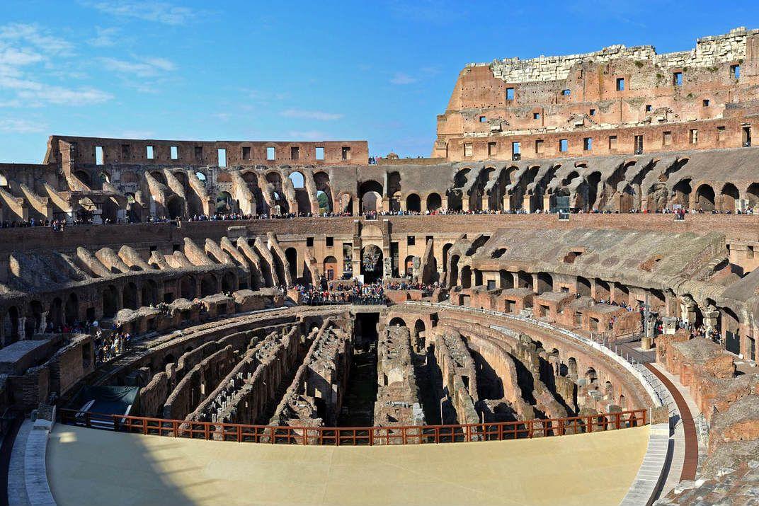 Rome-Colosseum-Nieuw-deel-open